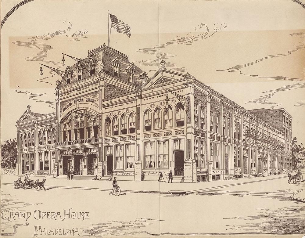 Grand Opera House, Philadelphia