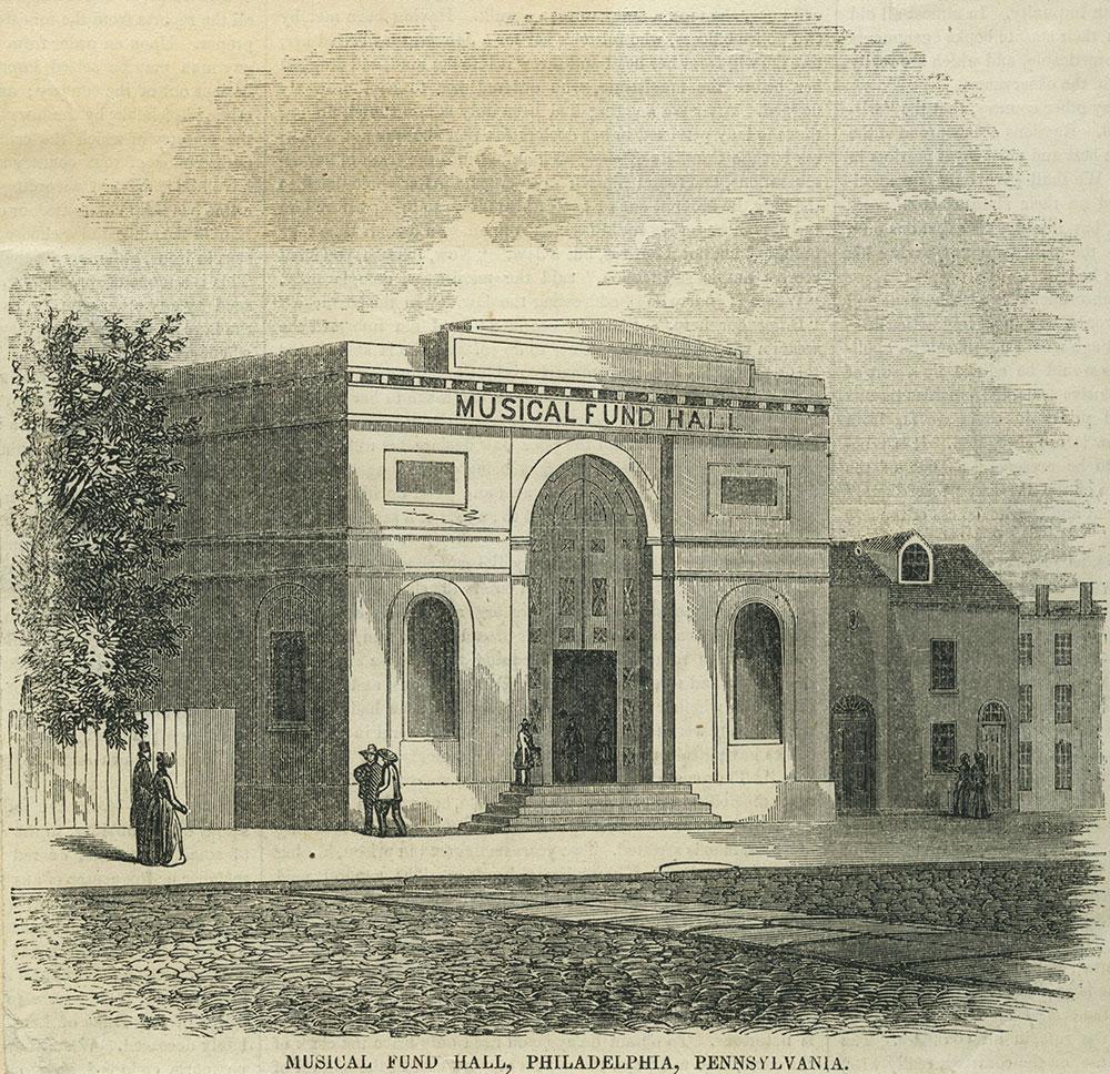 Musical Fund Hall, Philadelphia, Pennsylvania.