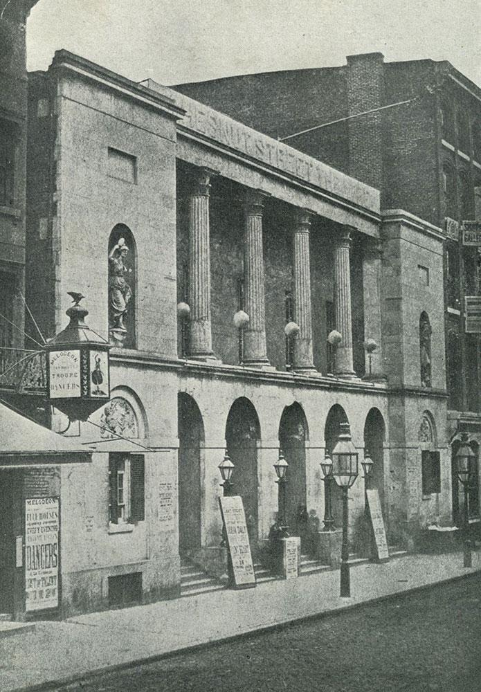 Chestnut Street Theatre, 1792