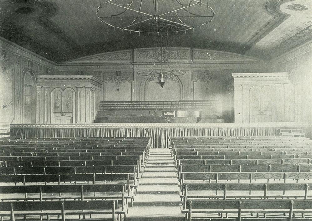 Interior Musical Fund Hall