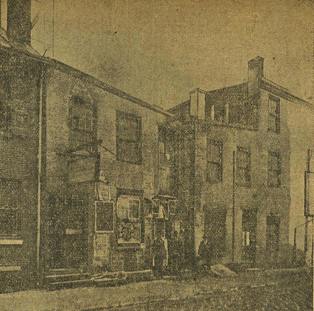 Old Dramatic Hall on Cherry Street