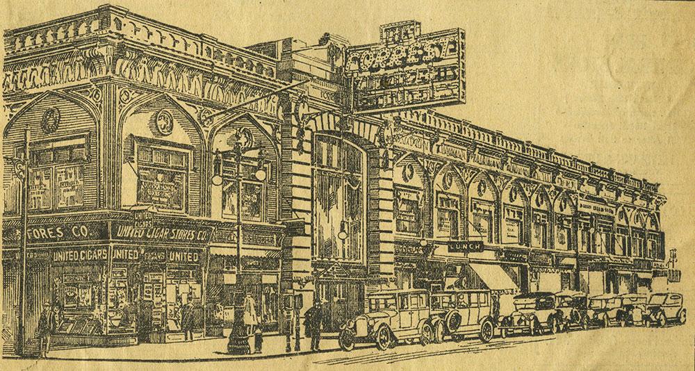 Forrest Theatre Block