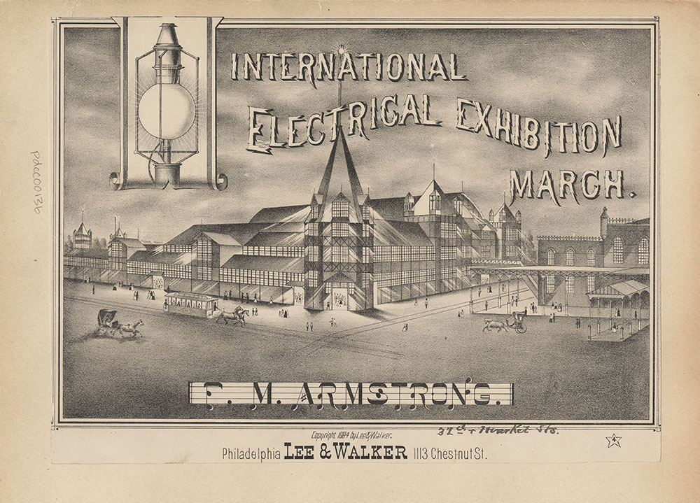 International Electrical Exhibition March.