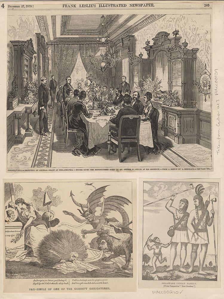 Reception of General Grant at Philadelphia