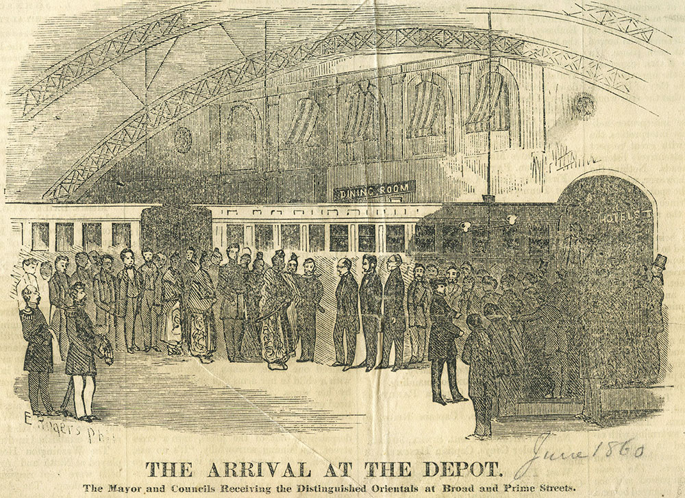 The Arrival at the Depot