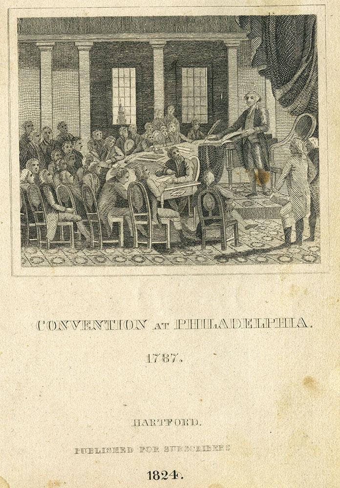 Convention at Philadelphia. 1787.