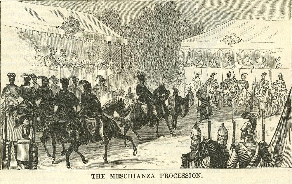 The Meschianza Procession.