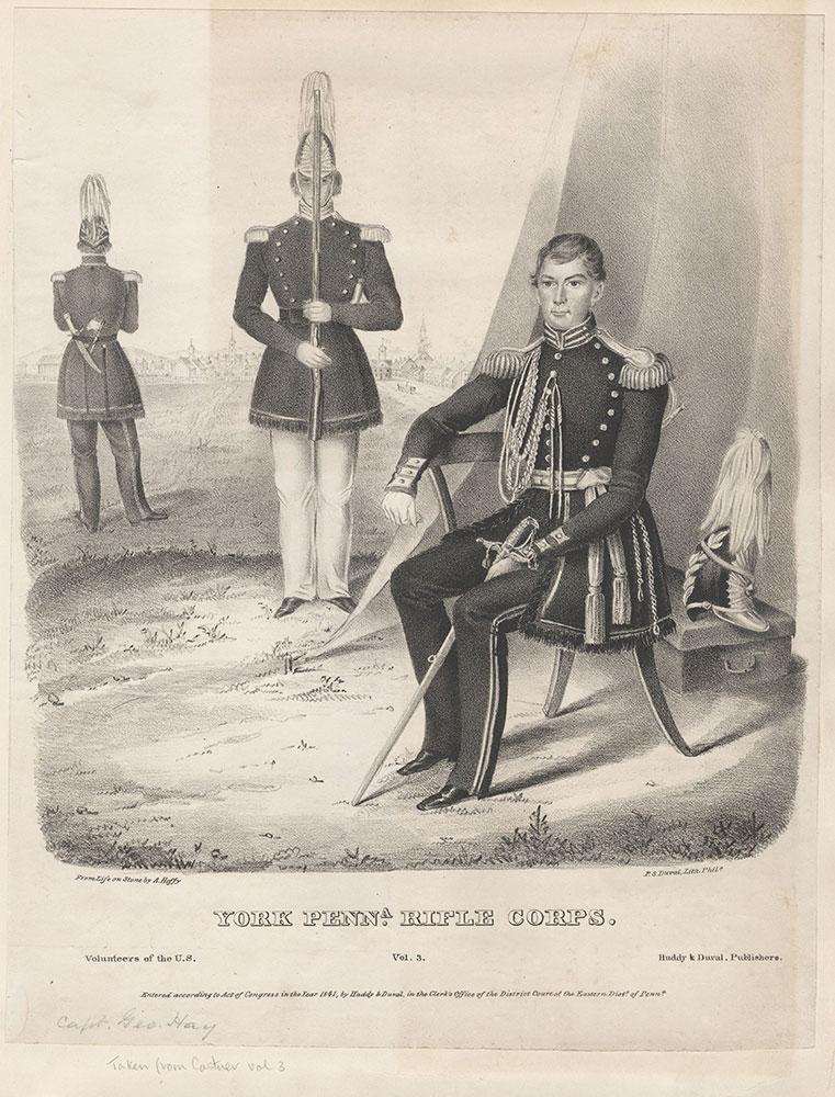 York Pennsylvania Rifle Corps.