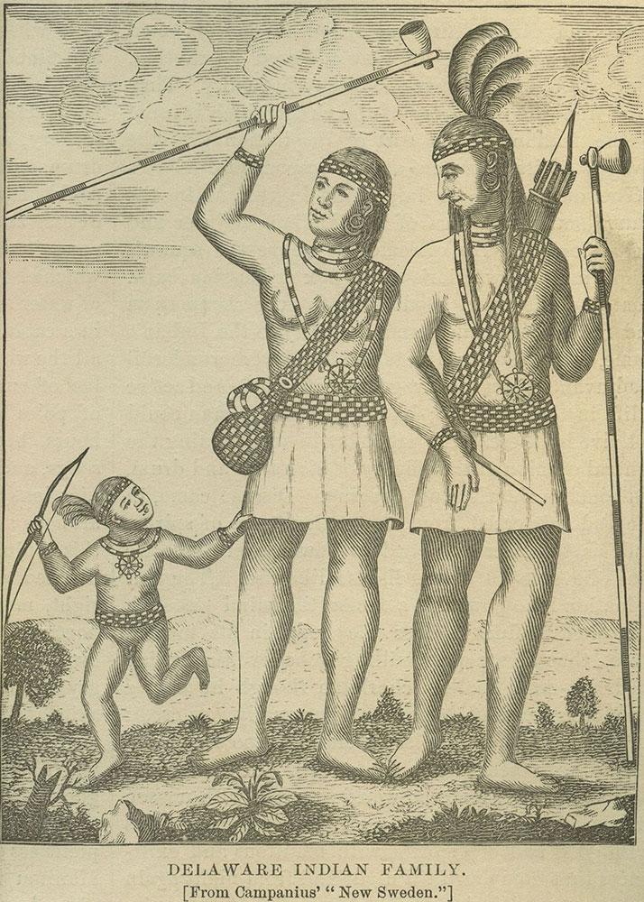 Delaware Indian Family.