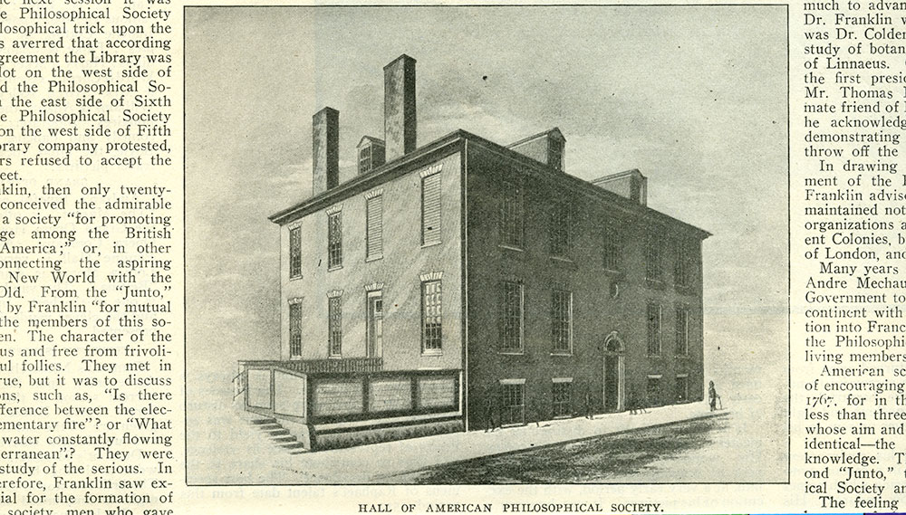Hall of American Philosophical Society