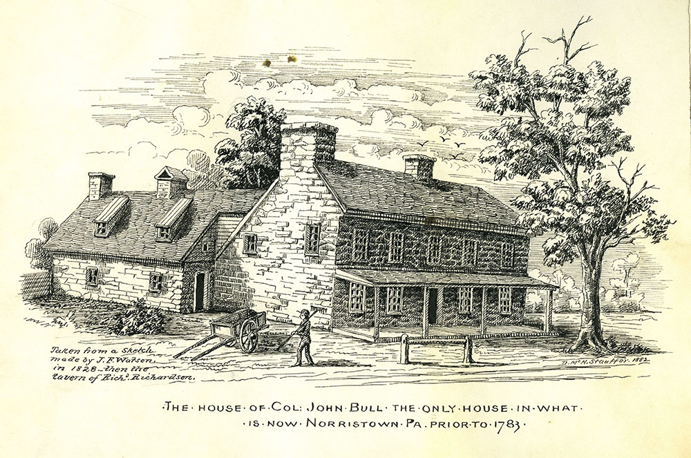 The house of Col. John Bull