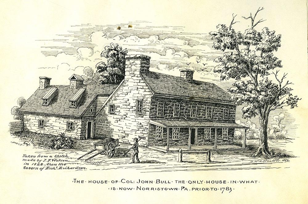The house of Col. John Bull