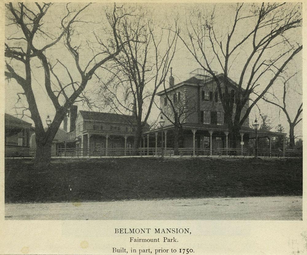 Belmont Mansion, Fairmount Park.