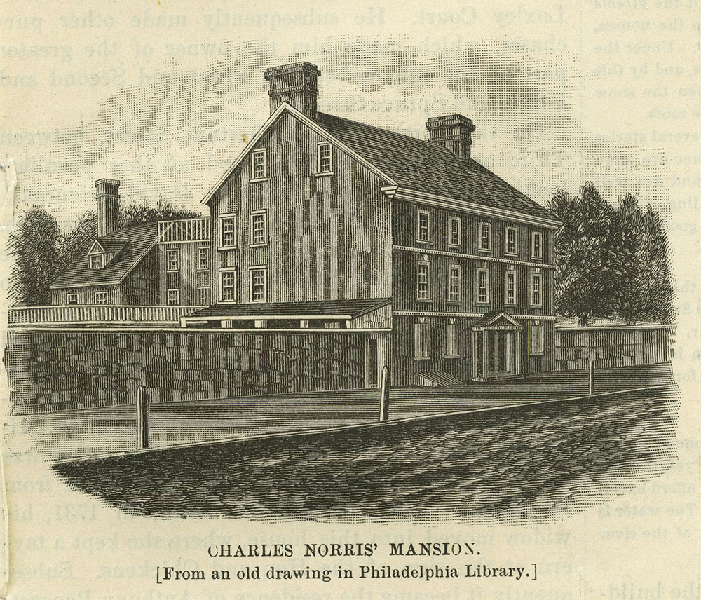 Charles Norris' Mansion.