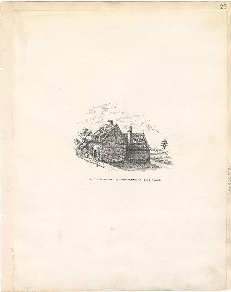 Castner Scrapbook v.4, Old Houses 1, page 29