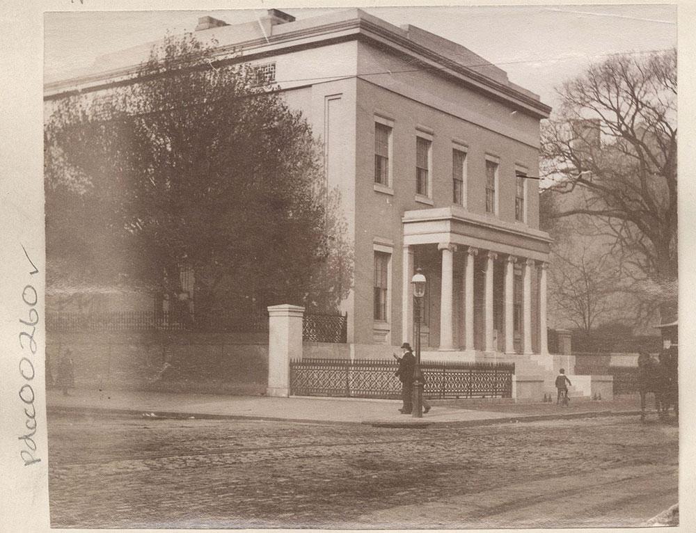 N.E.Corner of Broad & Walnut Streets.