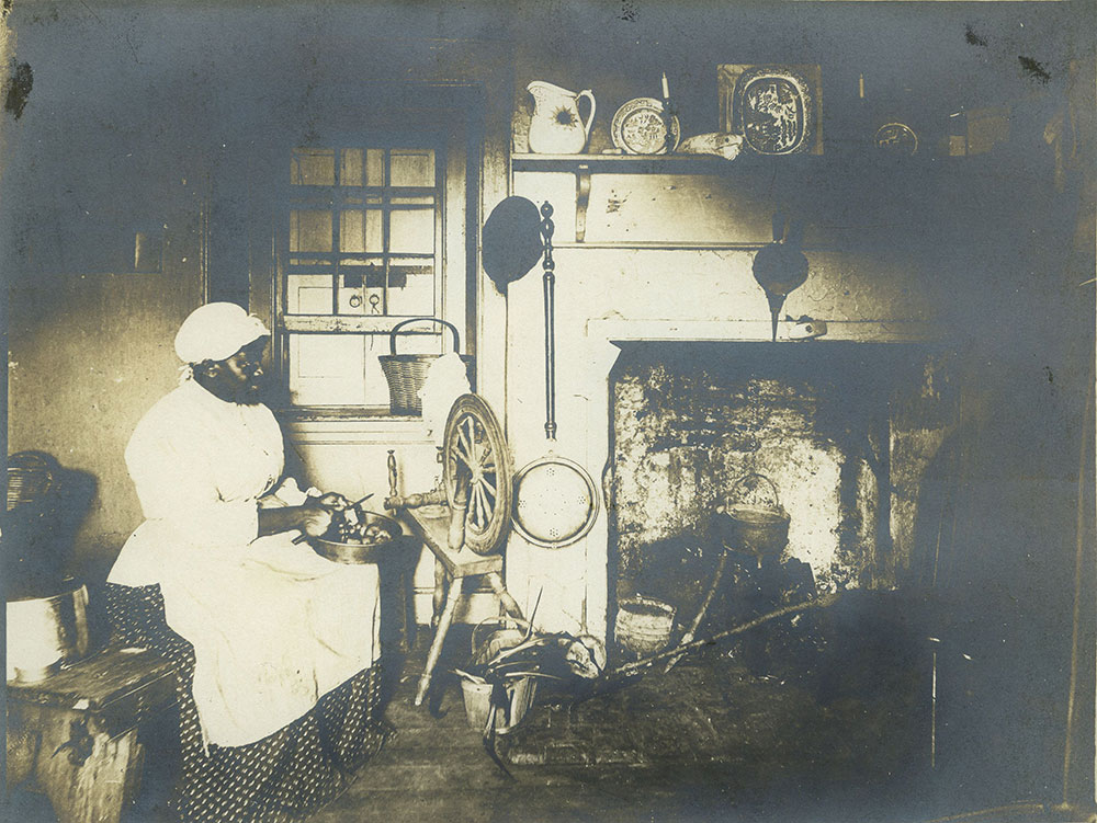 Old Del. Co. Kitchen.
