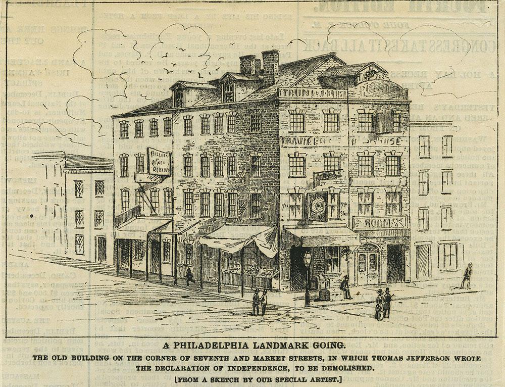 A Philadelphia Landmark Going.