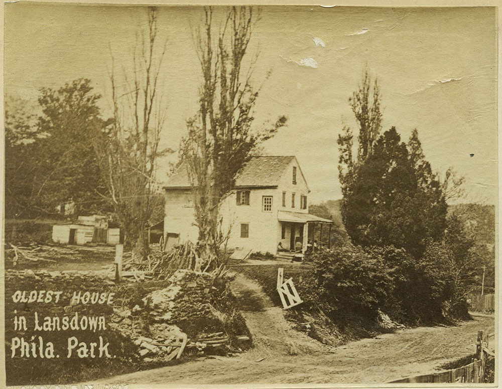 Oldest house in Lansdown, Phila. Park.