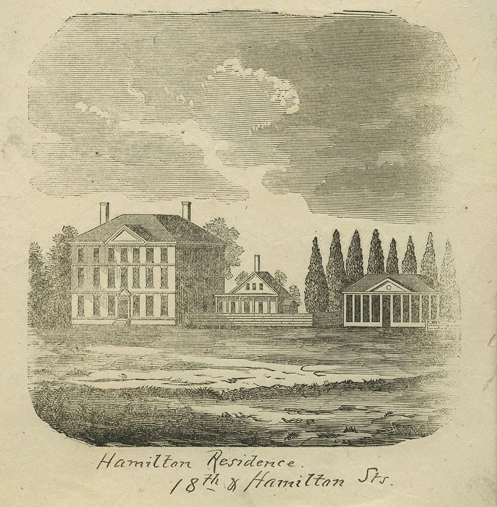 Hamilton Residence. 18th & Hamilton Street.