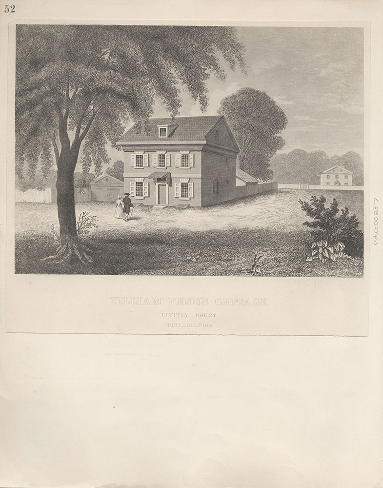 Castner Scrapbook v.4, Old Houses 1, page 52
