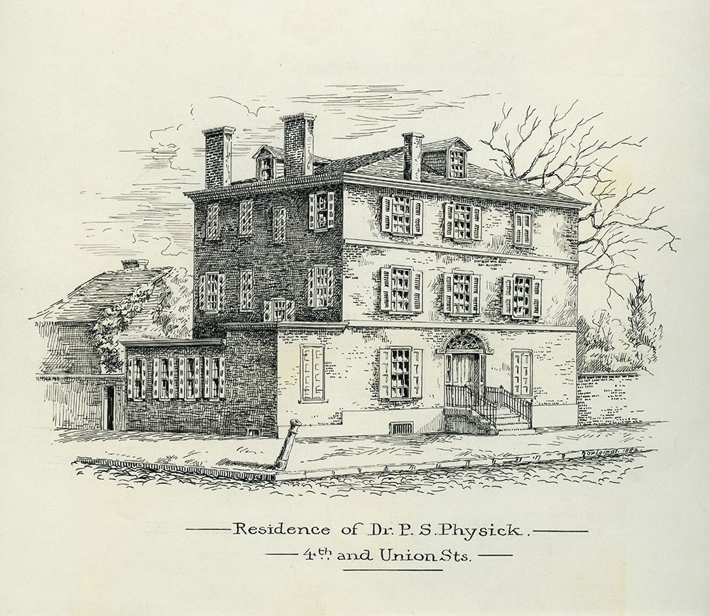 Residence of Dr. P. S. Physick