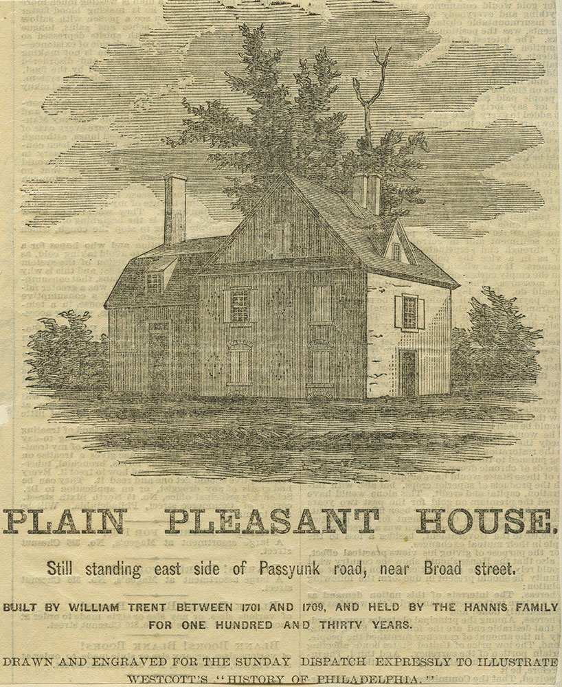 Plain Pleasant House.