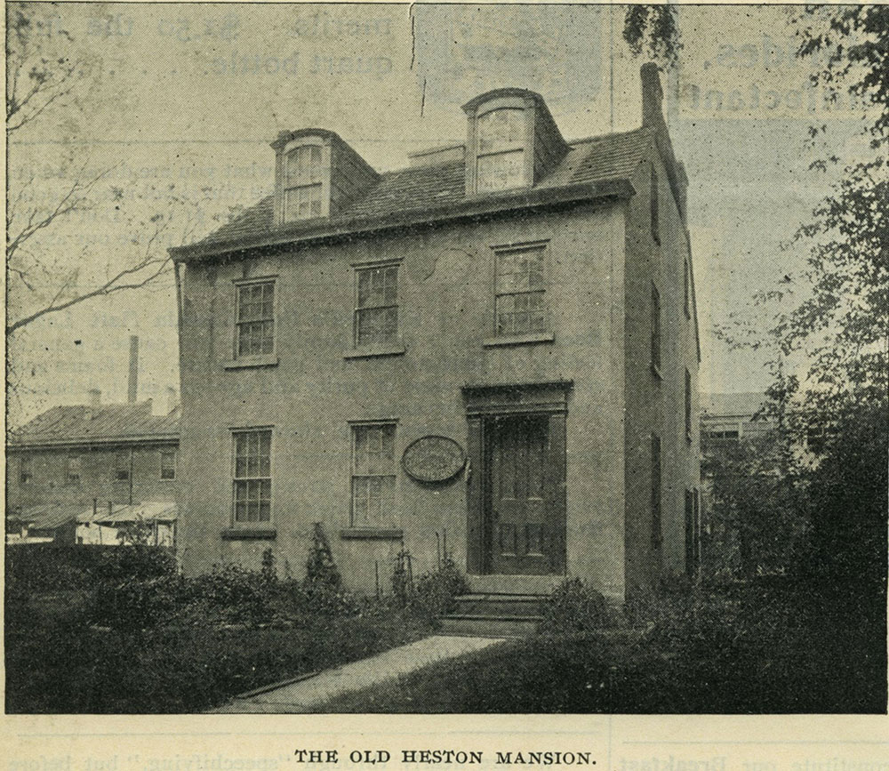 The Old Heston Mansion