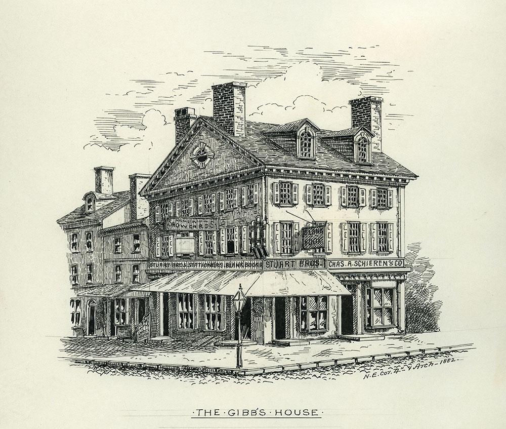 The Gibb's House.