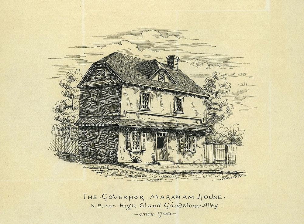 The Governor Markham House.