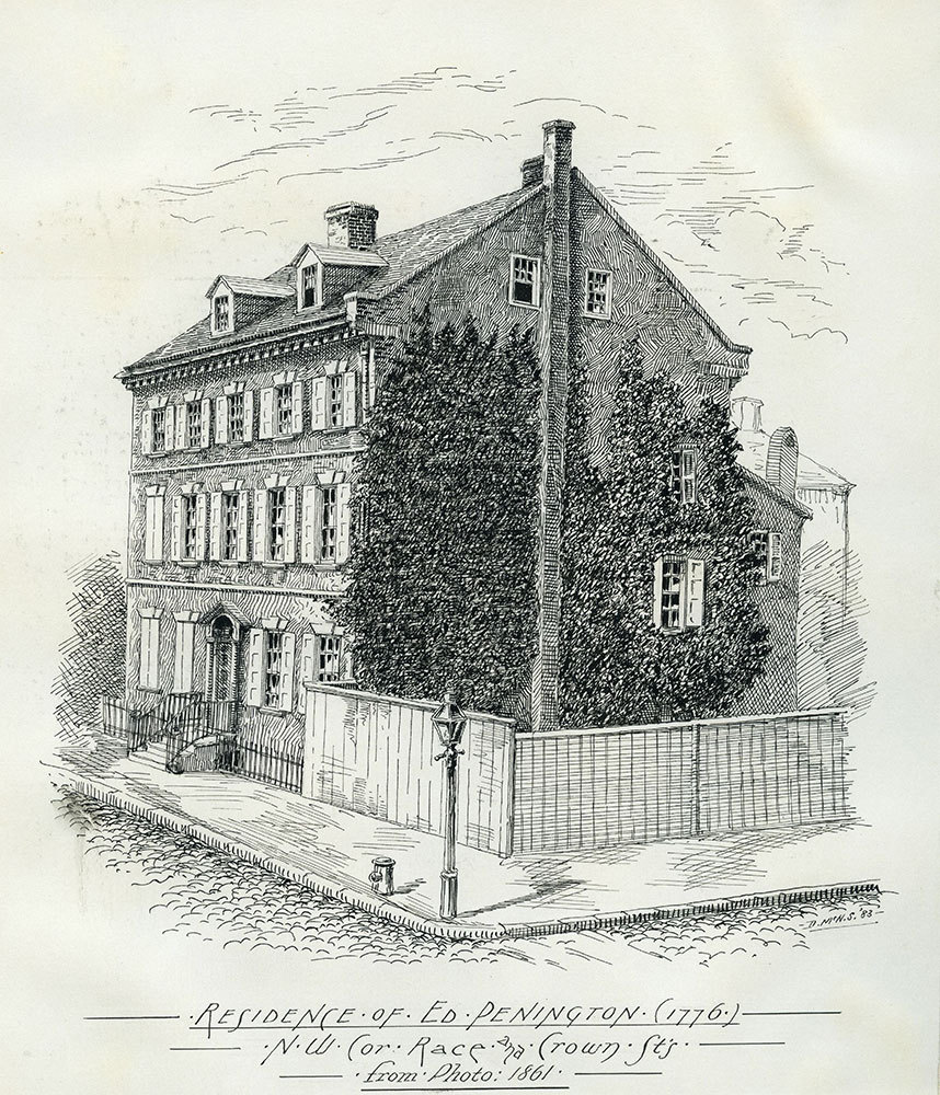 Residence of Ed Penington (1776).