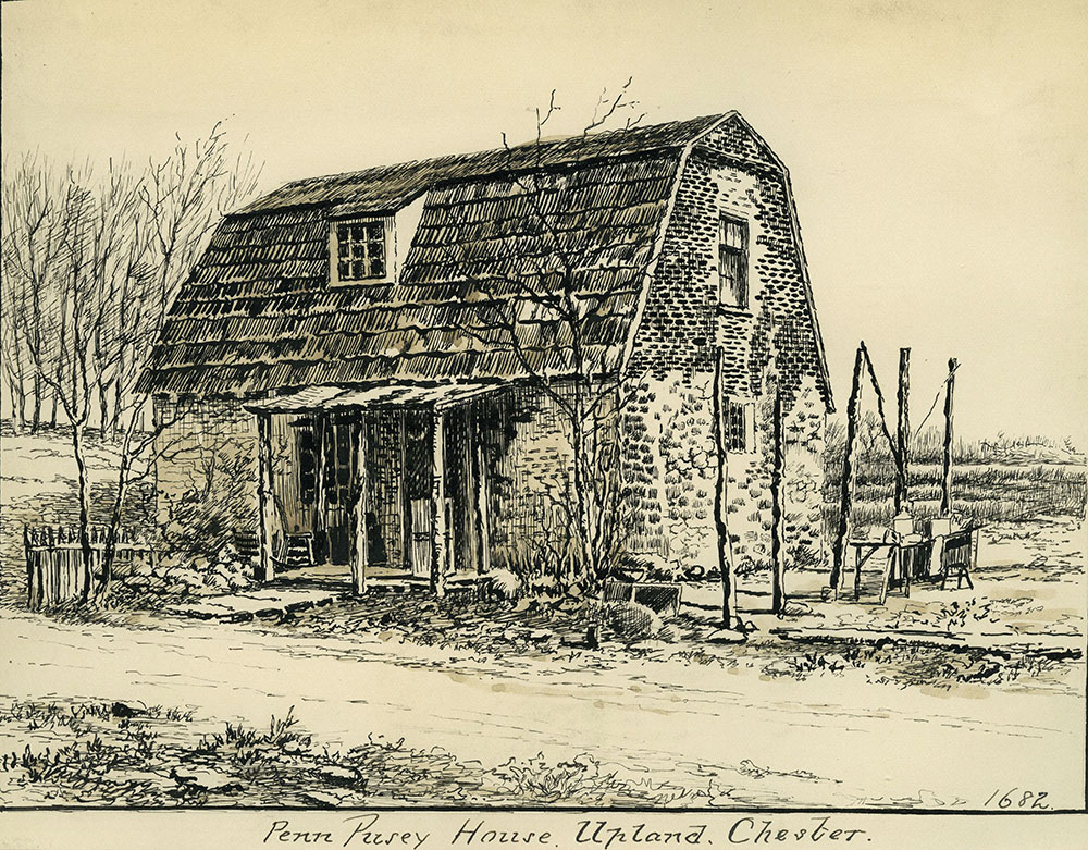 Penn Pusey House. Upland, Chester.