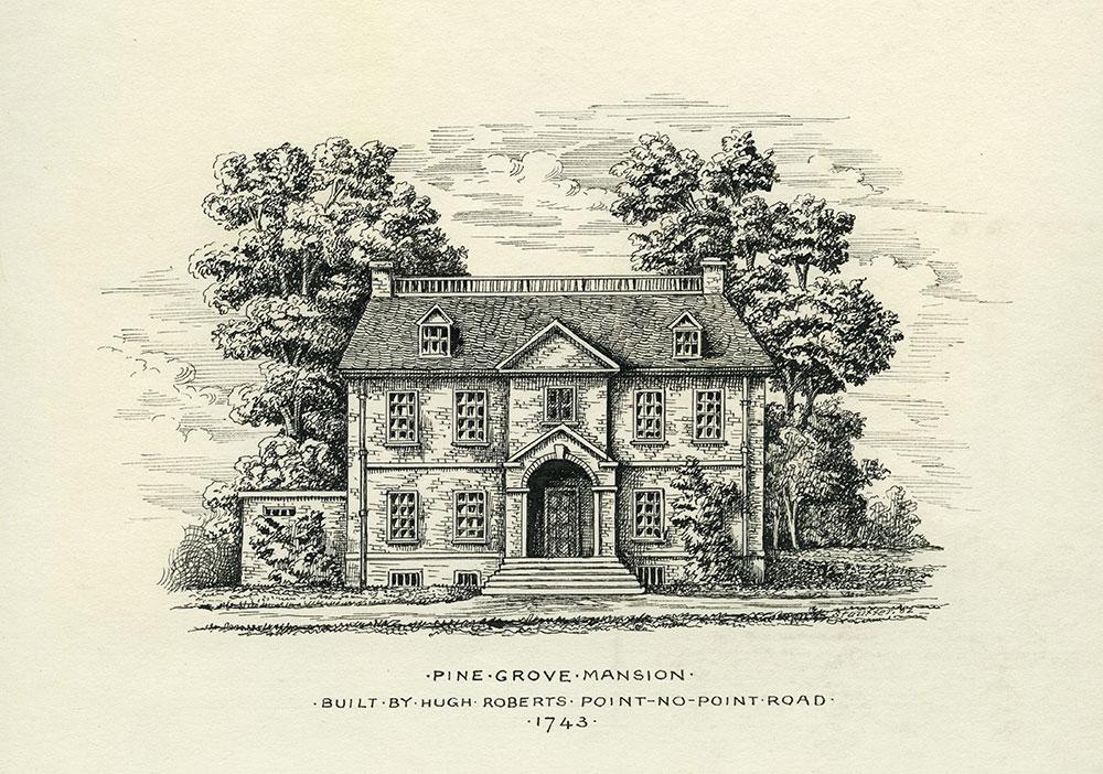 Pine Grove Mansion.