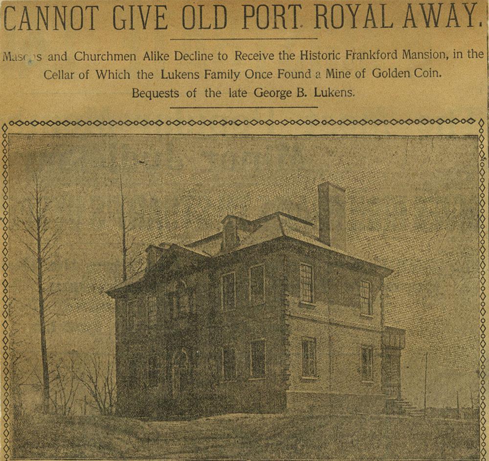 Port Royal Mansion