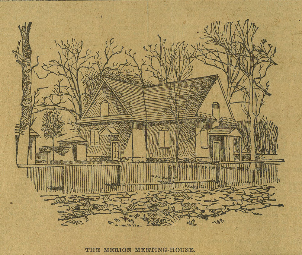 The Merion Meeting House.