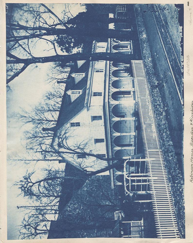 Robinson House, Ridge Ave & Wissahickon