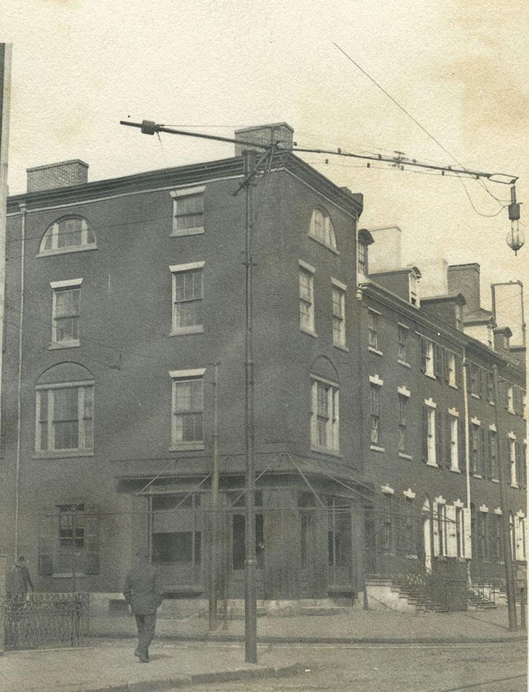 N. W. Corner 3rd & Spruce Streets
