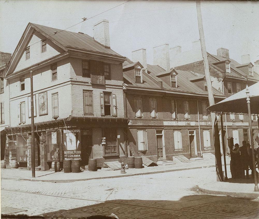 N. E. Corner. 3rd & Spruce Streets.