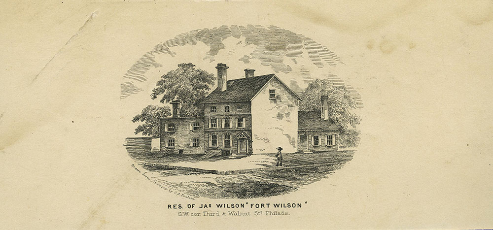 Residence of Jas Wilson -