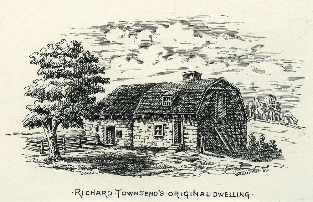 Richard Townsend's Original Dwelling.