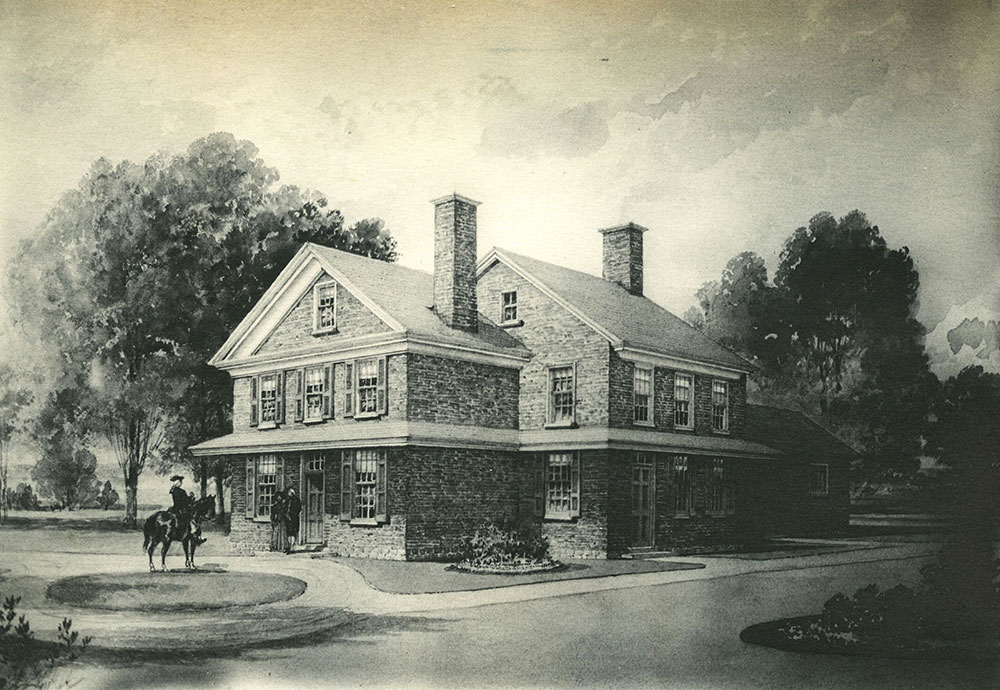Warner House near 42nd & Lancaster Avenue.