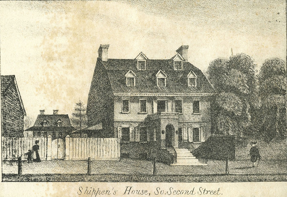 Shippen's House, So. Second Street