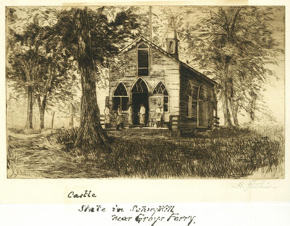 Castle, State in Schuylkill, near Grays Ferry