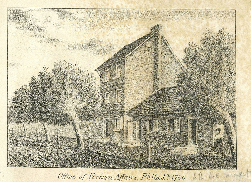 Office of Foreign Affairs, Philadelphia 1780