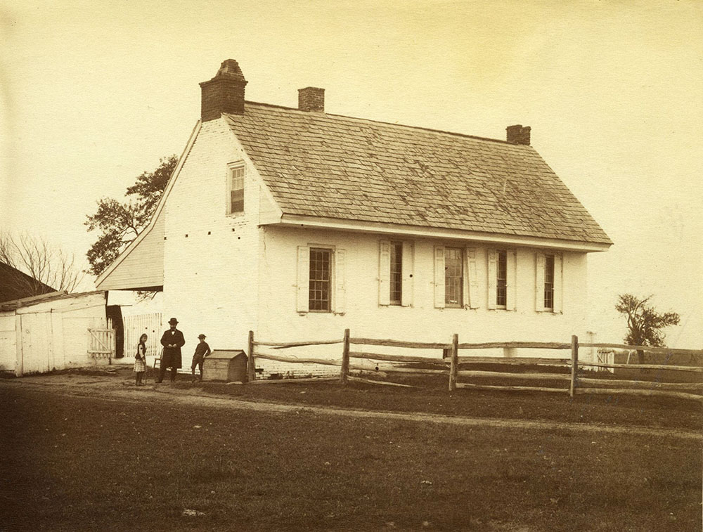 Seckel's Tenant House.