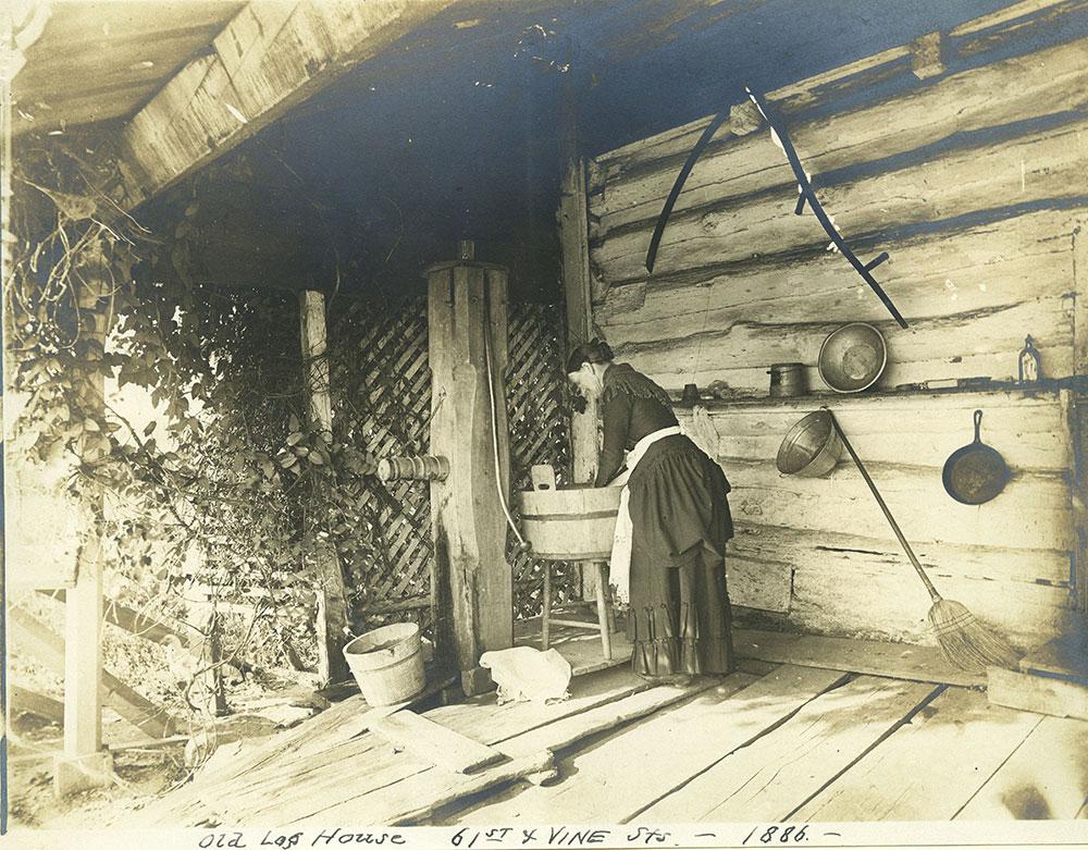 Old Log House.
