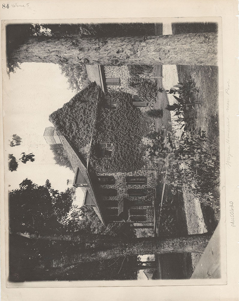 Castner Scrapbook v.5, Old Houses 2, page 84