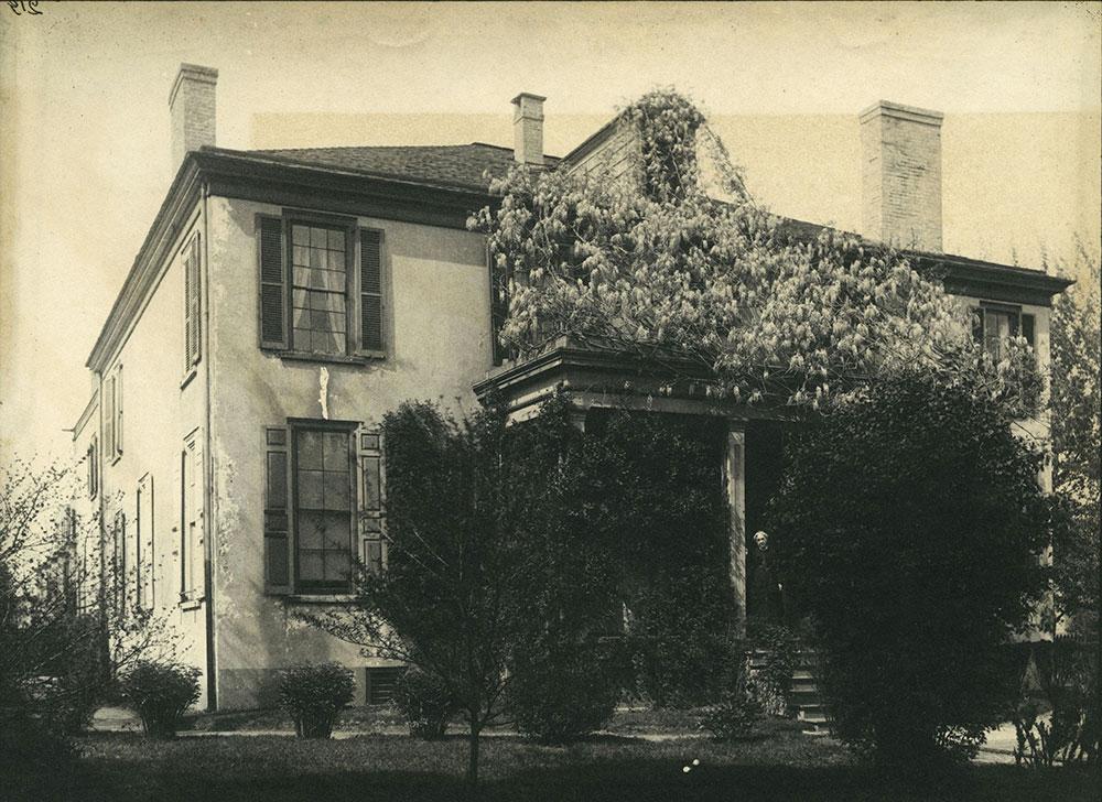Price House. N. W. Corner 38th & Chestnut Streets.