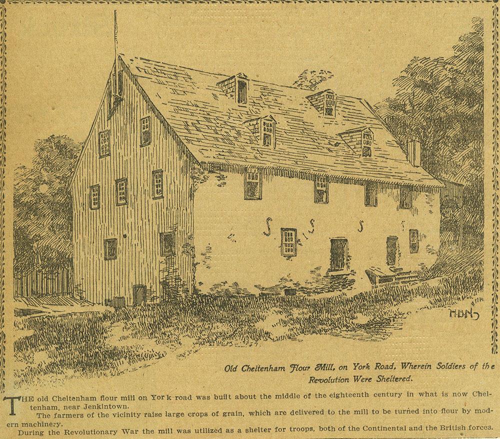Old Cheltenham Flour Mill