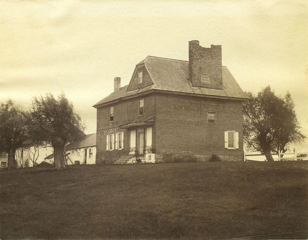 Cannonball House near Penrose Ferry bridge.
